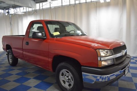 Pre-Owned 2003 Chevrolet Silverado 1500 Work Truck